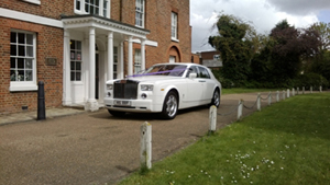 Our Rolls Royce Phantom hire at Venue 10
