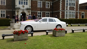 Our Rolls Royce Phantom hire at Venue 12