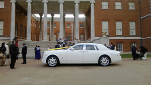 Our Rolls Royce Phantom hire at Venue 4